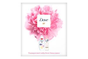 Набор подарочный Нежная красота Dove 1шт