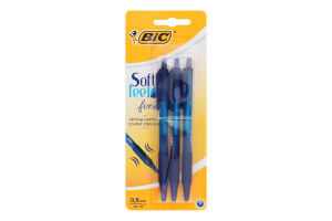Ручка автоматична кулькова Soft Feel BiC 3шт