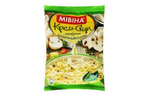 Крем-суп швидкого приготування з вермішеллю та шампіньйонами Мівіна м/у 57.5г