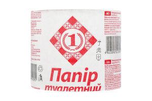 Туалетная бумага из макулатуры №1 1шт