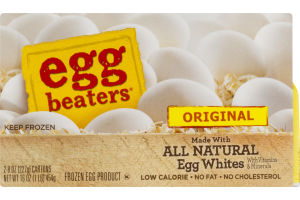Egg Beaters All Natural Egg Whites Original - 2 CT
