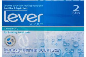 Lever 2000 Bar Soap Original - 2 CT