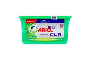 Средство моющее синтетическое жидкое в растворимых капсулах Горный источник Ariel 42х25.2г