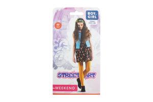 Колготы детские Boy&Girl Street Art 80den 140-146 honey