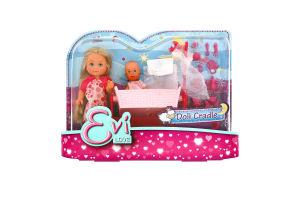 Лялька для дітей від 3-х років №5736242 Doll Cradle Evi love Simba 1шт
