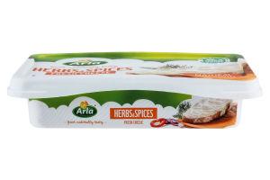 Сир-крем Arla Buko з зеленню 50% 150г Данія