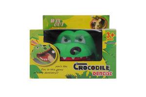 Гра настільна для дітей від 3років №2205 Крокодил-дантист Guangdong Qunxing Toys Joint-Stock 1шт