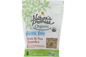 Nature's Promise Organic Gluten Free Granola Fruit & Nut
