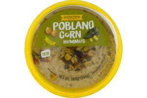 Garden Fresh Gourmet Hummus Poblano Corn