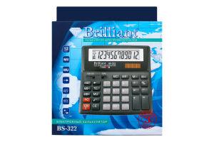 Калькулятор №BS-322 Brilliant 1шт