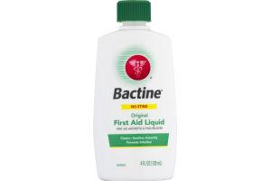 Bactine Original First Aid Liquid No Sting
