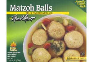 Meal Mart Matzoh Balls