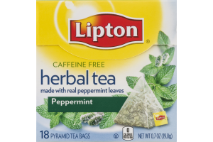 Lipton Herbal Tea Bags Peppermint - 18 CT