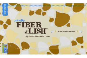 NuGo Fiber d'Lish Soft Baked Delicious Treat Blondie Bars - 16 CT