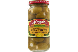 Mezzetta Greek-Style Feta Cheese Stuffed Olives