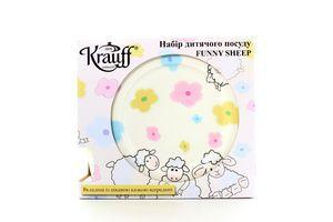 Набір посуду Krauf Sheep дитячий 21--244-041
