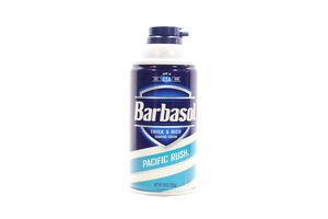 Пена для бритья Pacific Rush Barbasol 283мл