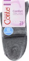 CONTE Шкарпетки жіночі Comfort 14С-114СП р.23 000 темно-сірий