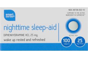 Smart Sense Nighttime Sleep-Aid Tablets - 100 CT