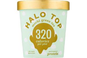 Halo Top Light Ice Cream Mochi Green Tea