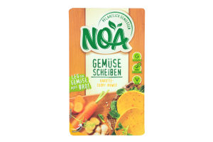 Овочеві скибочки морква-карі-імбир ТМ NOA