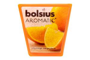 Свеча Bolsius Апельсин арома квадратная 47/47мм