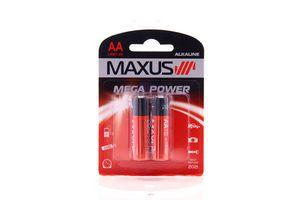 Батарейка алкалін. MAXUS АА/LR6 1,5V <AA-C2> 1шт