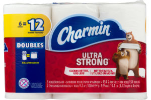Charmin Ultra Strong Bathroom Tissue - 6 CT