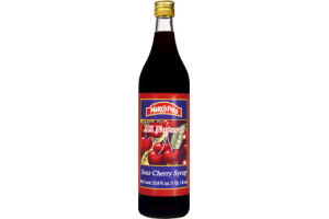 Marco Polo All Natural Sour Cherry Syrup
