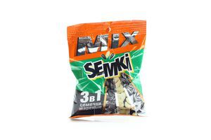 Смесь семен жареных соленых Semki м/у 80г