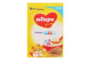 Каша Milupa молочна суха швидкорозчинна гречана для дітей від 4-х міс. 210г