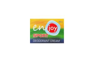 Enjoy крем-дезодорант для тіла Sport 30мл банка