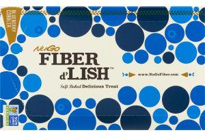 NuGo Fiber d'Lish Soft Baked Delicious Treat Blueberry Cobbler Bars - 16 CT