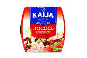 Лосось с овощами по-итальянски в томатном соусе Kaija ж/б 220г