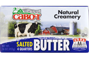 Cabot Butter Salted - 4 CT