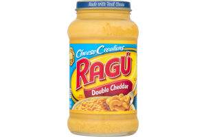 Ragu Cheese Creations Sauce Double Cheddar