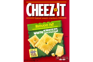 Cheez-It Baked Cracker Snack Reduced Fat White Cheddar