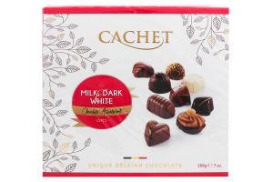 Конфеты Cachet Бельгийский микс ассорти шоколадные