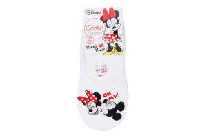 Шкарпетки-сліди жіночі Conte Minnie Mouse №18С-198СПМ 23 білий