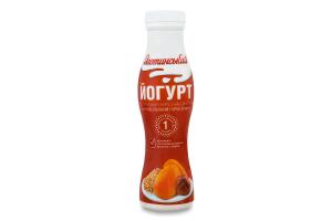 Йогурт 1.7% Курага-Лісовий горіх-Злаки Яготинський п/пл 270г