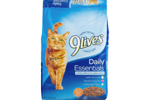 9Lives Daily Essentials Cat Food Chicken, Beef & Salmon
