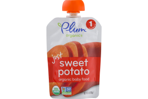 Plum Organics Just Sweet Potato Organic Baby Food