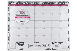 Time Smart 2015 Monthly Calendar
