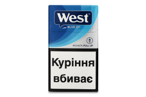 Сигарети з фільтром West Blue Up 20шт