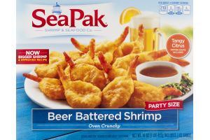 SeaPak Oven Crunchy Beer Battered Shrimp