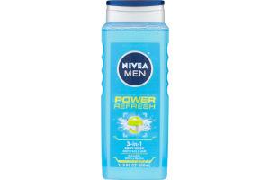 Nivea Men Power Refresh 3-in-1 Body Wash