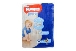 Трусики-підгузники huggies 4 , 36шт Хлопчики