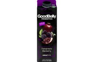 GoodBelly Probiotics Juice Drink Pomegranate Blackberry