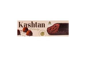 """Морозиво ескімо """"Каштан Полтавський"""" пломбір з какао в глазурі зі смаком трюфеля 65 гр, Рудь"""