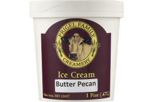 Prigel Family Creamery Ice Cream Butter Pecan